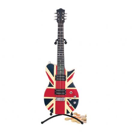 Union Jack Electric Guitar Money Box